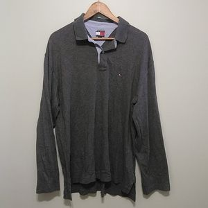 3/25$ Tommy Hilfiger Mens polo long sleeve XL